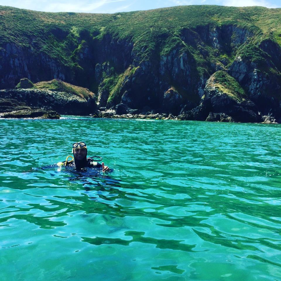 bautismos de buceo en mar con buceo malpica