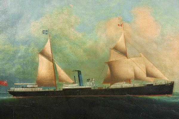 El SS Priam naufragado en las Sisargas