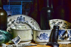 vajilla parecida a la encontrada en los restos del solway pertenecientes a la Royal mail setas pacte company o RMSP