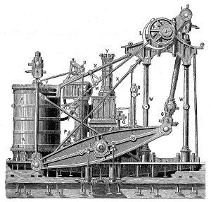 motor de vapor del solway hundido en las bajos de baldaio en la costa da morte