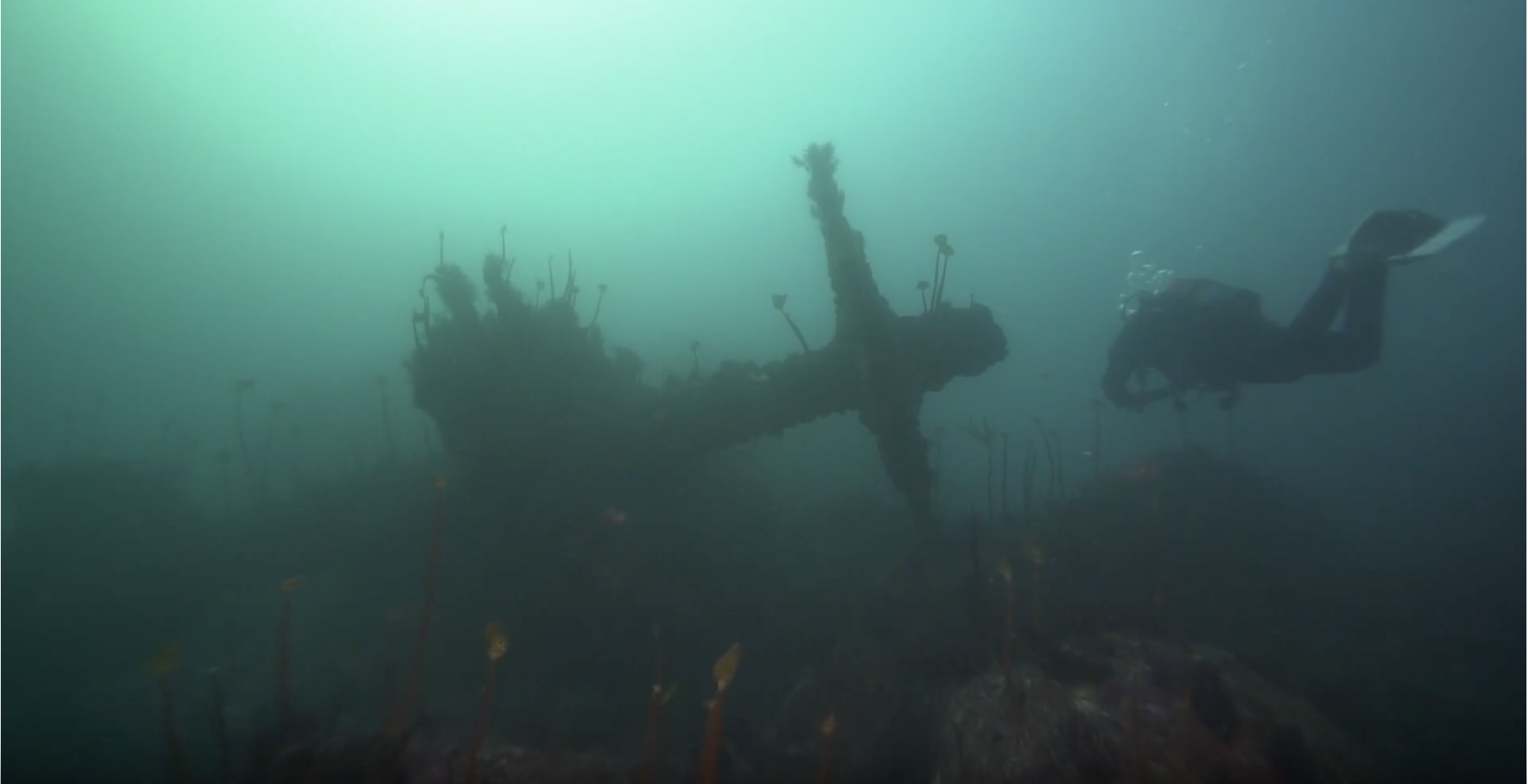 En el Solway con los buscadores de naufraxios de la TVG