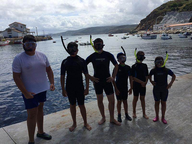 Snorkel en Malpica
